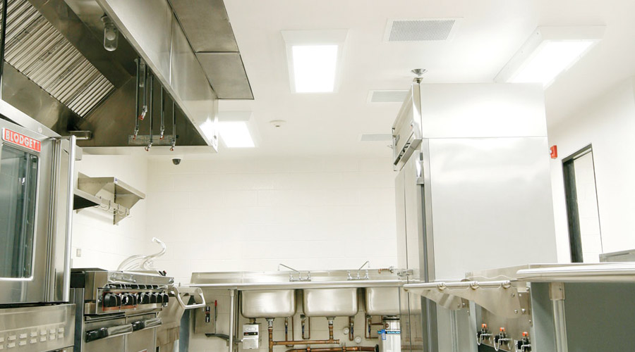 Tough Durable Nsf Listed Lighting For Prison Cafeterias