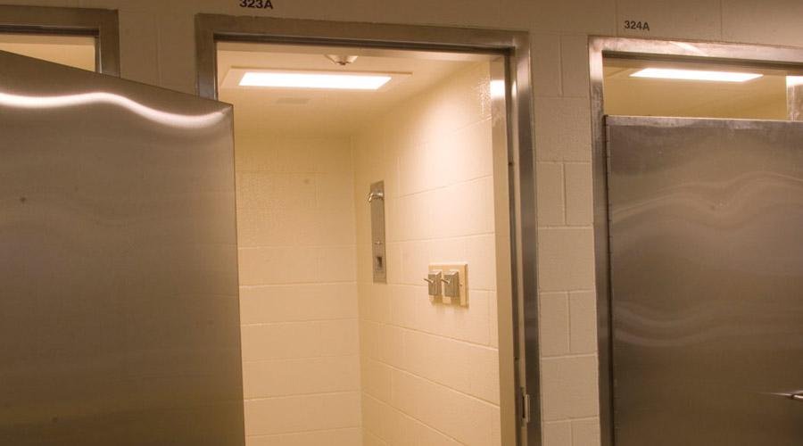 . Prison Lighting for Washrooms