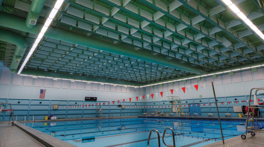 Lighting for Pools and Gyms