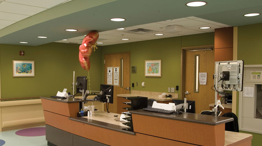 Healthcare Lighting For Nursing Stations And Corridors