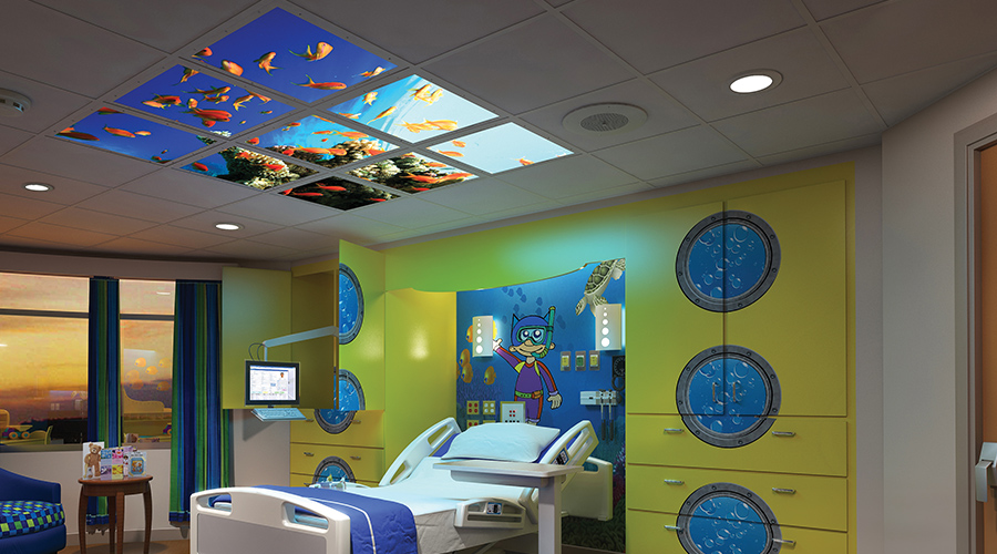 Patient Rooms & Healthcare Lighting