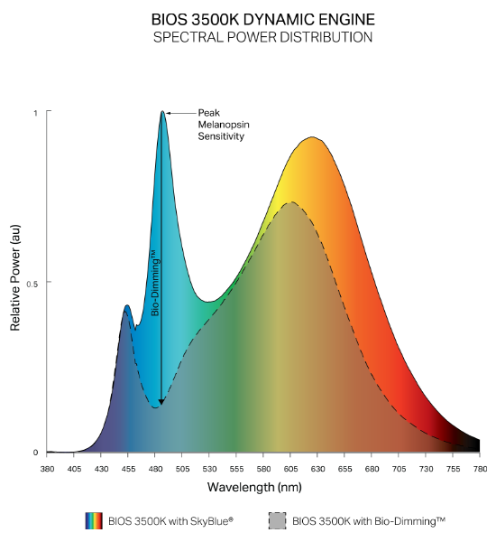 SkyBlue Dynamic Spectrum Diagram