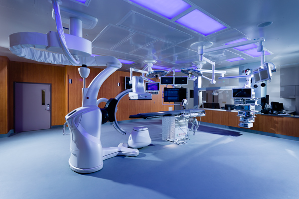Spring Valley Operating Room with Indigo-Clean luminaires
